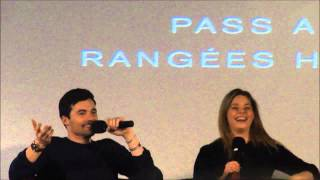 Ian Harding plays Kiss, Kill or Marry at PLL convention