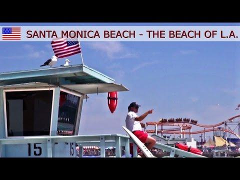 Santa Monica Beach - The beach of Los Angeles