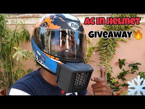 Helmet AC + Giveaway  Best for summer rides