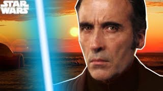 Why Palpatine Told the Empire Dooku Was a Jedi ALL ALONG - Star Wars Explained