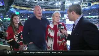 Keith and Chantal Tkachuk on watching their son Matthew in St. Louis