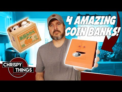 Testing 4 Amazing Coin Banks!