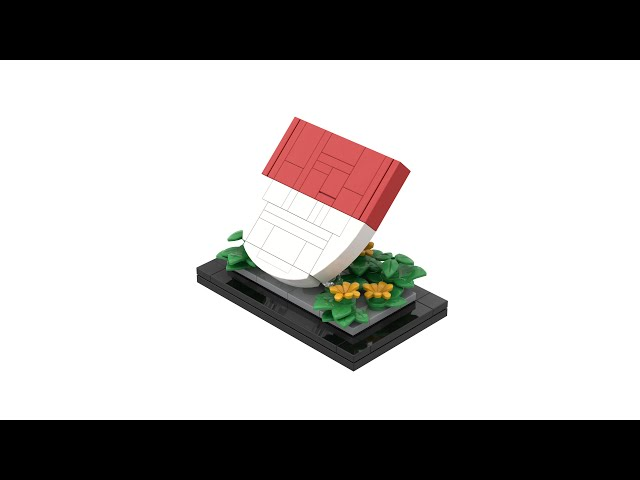 LEGO® Coat of Arms of Solothurn with Instructions