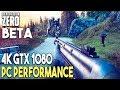 Generation Zero BETA PC ULTRA Settings 4K Gameplay Performance (GTX 1080)