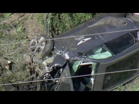 Tiger Woods' car crash caused by excessive speed, says LA Sheriff