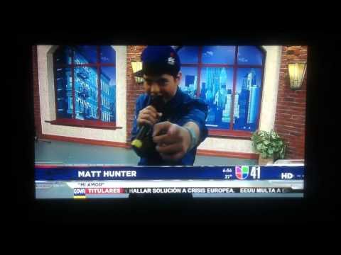 Matt Hunter on Univision