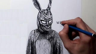 DRAWING DONNIE DARKO BUNNY SUIT (MASK) - FRANK