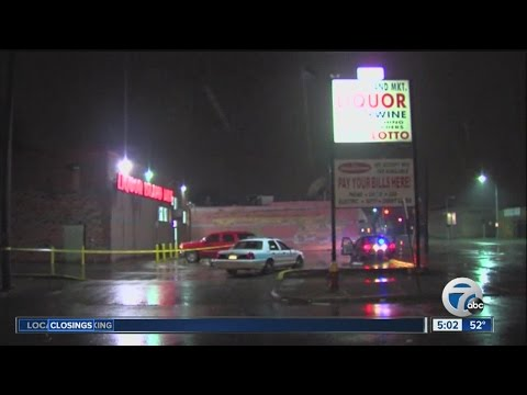 Fatal liquor store shooting in Detroit