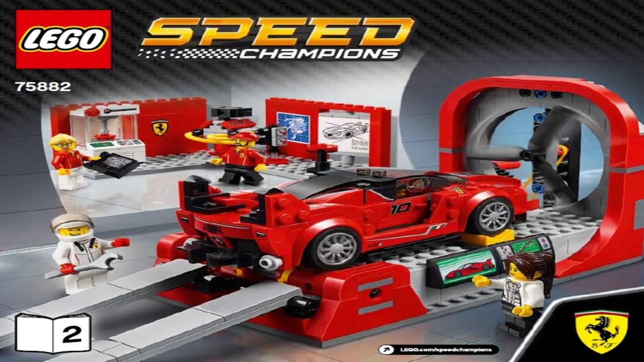 lego speed champions 2017 ferrari fxx k development. Black Bedroom Furniture Sets. Home Design Ideas