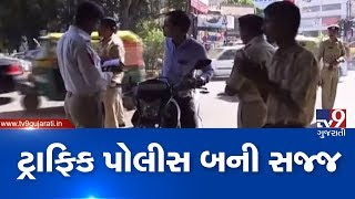 Surat: 60 teams formed by traffic police after New motor vehicles act come into effect from today