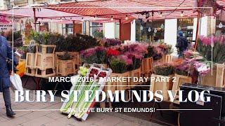 A Walk Around the Market in Bury St Edmunds today part 2