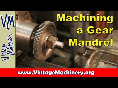 Broken Gear Repair:  Machining a Custom Mandrel to Hold the Gear
