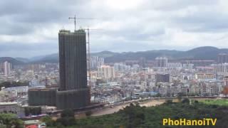 Thành phố Móng cái tỉnh Quảng ninh - Nơi vùng biên giới tiếp giáp Đông hưng -TQ.