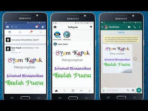 Cara Membuat Tulisan Keren Dan Unik Di Facebook,Whatsapp,Instagram Dan Media Sosial Lainnya