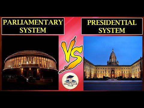 संसदीय प्रणाली- (Parliamentary VS Presidential Systems) (Laxmikanth, Chapter-12- Indian Polity)