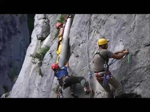 Cave Rescue, Bulgaria - Vratzata 2016