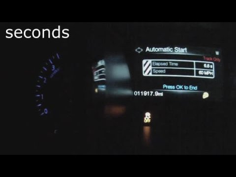 2015 Ford Mustang EcoBoost 060 MPH Test Video  Turbo 23 Liter 4