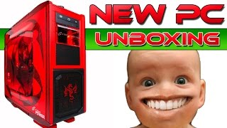 New Gaming PC Unboxing - CyberPowerPC Setup Review