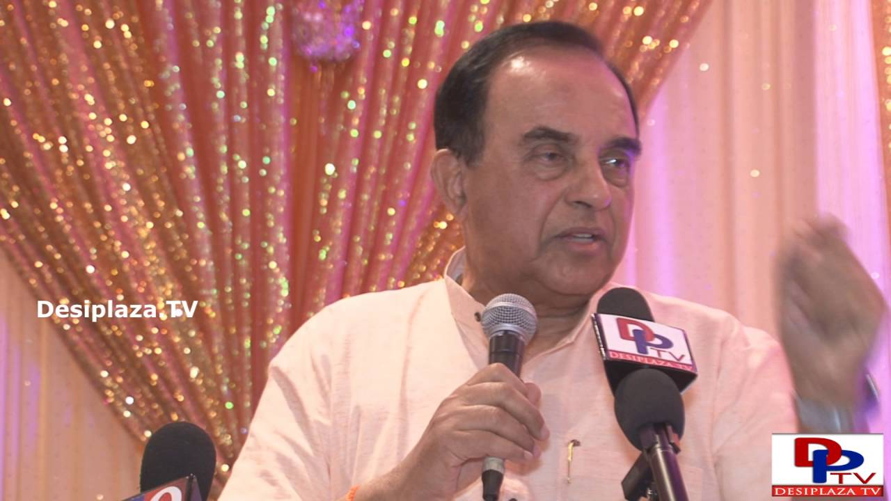 Part 2. Dr.Subramanian Swamy giving his lecture at GHHF sponsored event in Dallas.