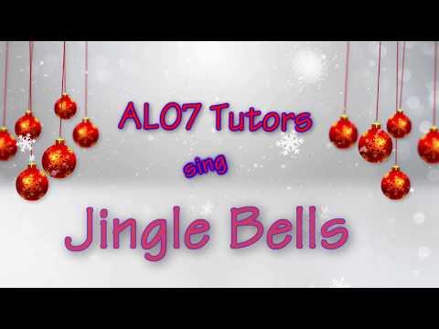 ALO7 Tutors Sing Jingle Bells