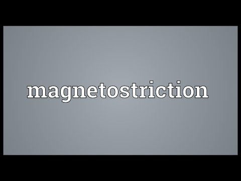 Header of magnetostriction