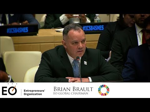 Brian Brault, EO Chairman Speaking at the United Nations 5-12-18