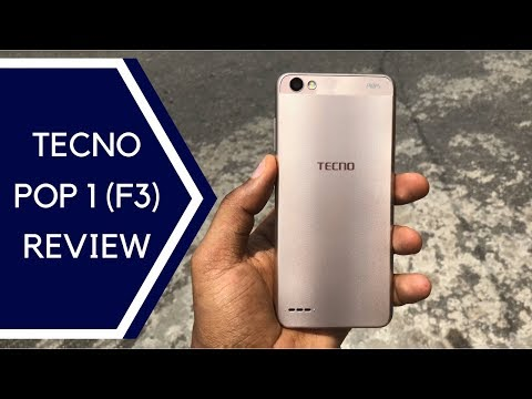 TECNO POP 1 a k a TECNO F3 - Unboxing And Review - YouTube