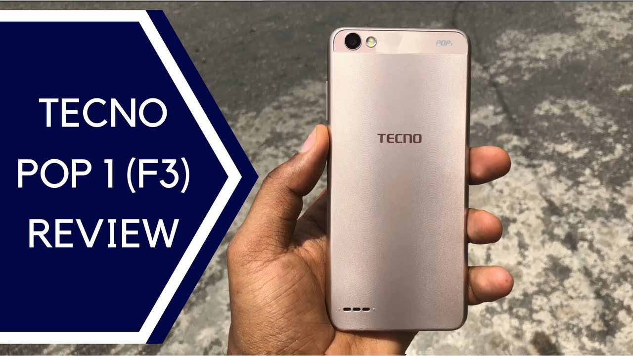TECNO POP 1 a k a TECNO F3 - Unboxing And Review