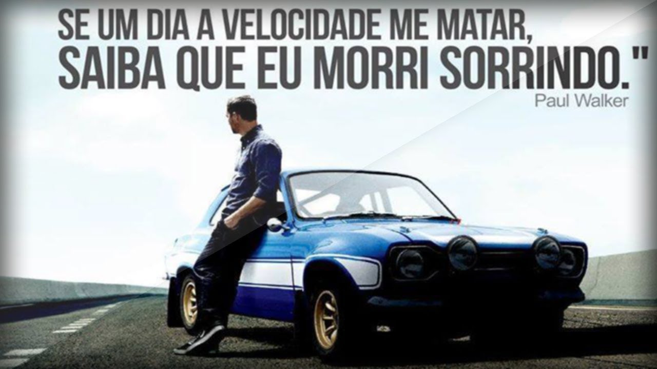 Homenagem A Paul Walker Eternobrian Cenas Do Velozes E Furiosos