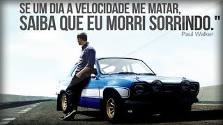 Homenagem a Paul Walker (#EternoBrian) - Cenas do Velozes e Furiosos 1