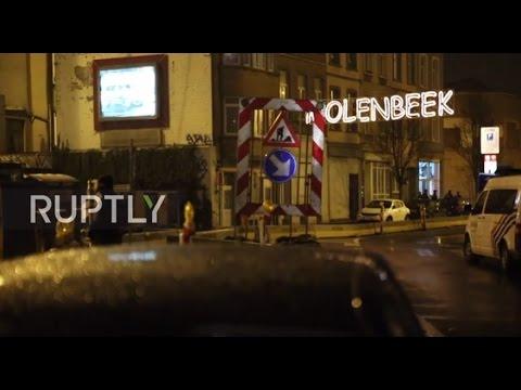 Belgium: Three arrested in 'anti-terror' police raids in Molenbeek