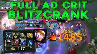 FULL AD BLITZCRANK (1000 DMG CRITS)