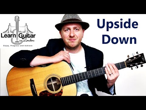Upside Down - Guitar Tutorial - Jack Johnson - Chords + Rhythm