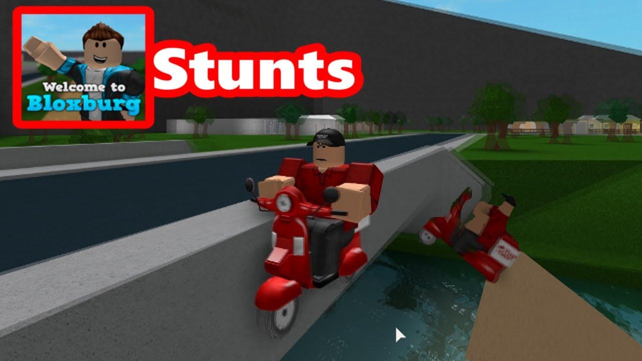 Bloxburg Driving Stunt...