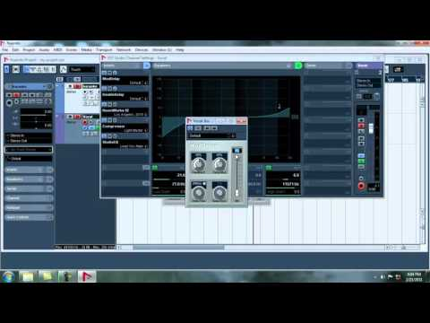 How to Record in Nuendo