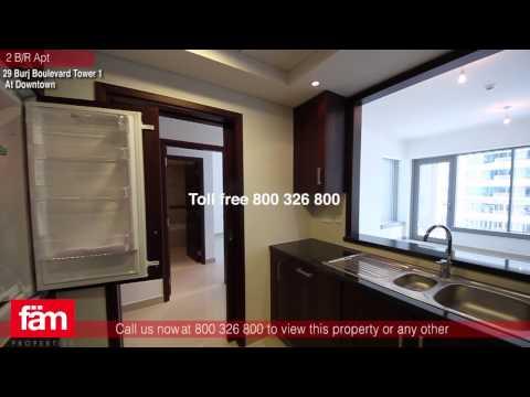 2 B/R Apt For Sale, 29 Burj Boulevard Tower 1, Downtown Dubai - UAE