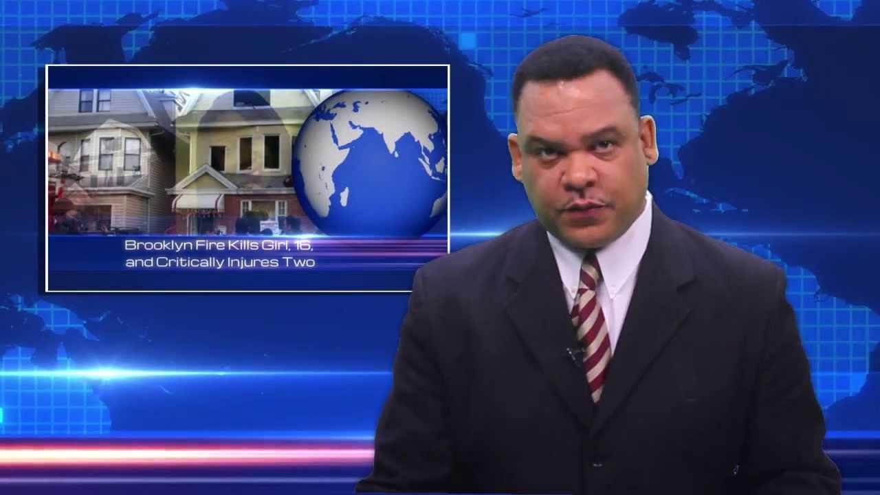Haiti News Desk With Valerio Saint Louis For 2014 Youtube
