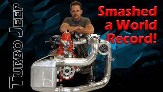 Turbo Jeep Smashes World Records! (Tons of Innovation!)