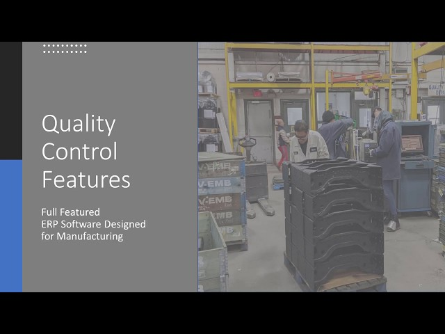 Onramp Solutions- Quality Control Features