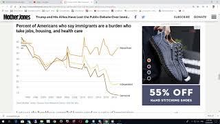 Американцы считают, что сокращать иммиграцию не нужно - 67%