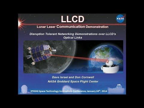 The Lunar Laser Communication Demonstration (LLCD) -- David Israel And Donald Cornwell, NASA