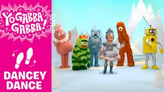 Dancey Dance with Snow Princess - Yo Gabba Gabba!