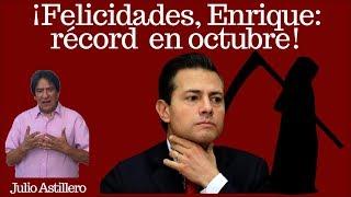 Julio Astillero. ¡Felicidades, Enrique: récord en octubre!