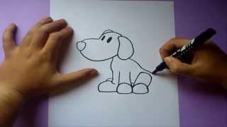 Como dibujar a Loula paso a paso - Pocoyo | How to draw Loula - Pocoyo