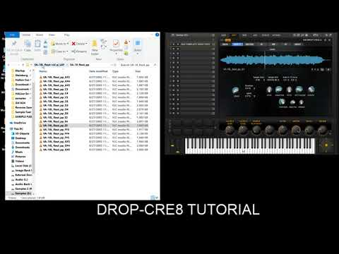 DROP-CRE8 New Life into OLD Samples