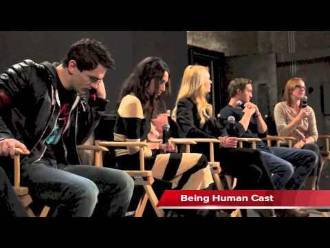 BEING HUMAN Cast at Syfy Digital Press Tour 2013