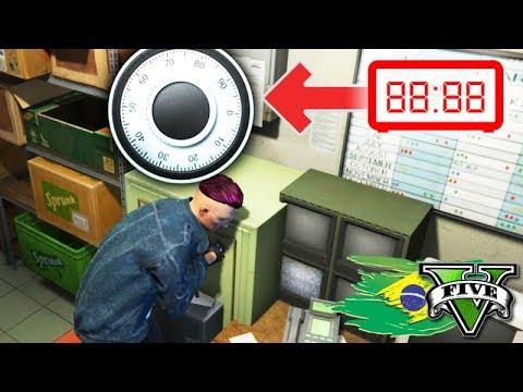 GTA V: BRASIL ROLEPLAY - O ASSALTO a LOJINHA!!! DIFÍCIL #41