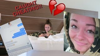 CHEATING ON MY GIRLFRIEND PRANK *FREAKOUT*