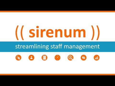Introduction to Sirenum Staff Management Software Platform