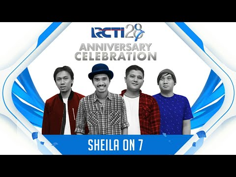 "RCTI 28 ANNIVERSARY CELEBRATION | Sheila On 7 ""Medley J.A.P & Bila Kau Tak Disampingku"""